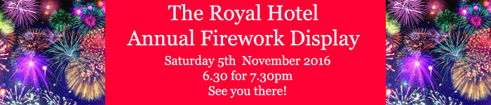 Fireworks - 5th November 2016